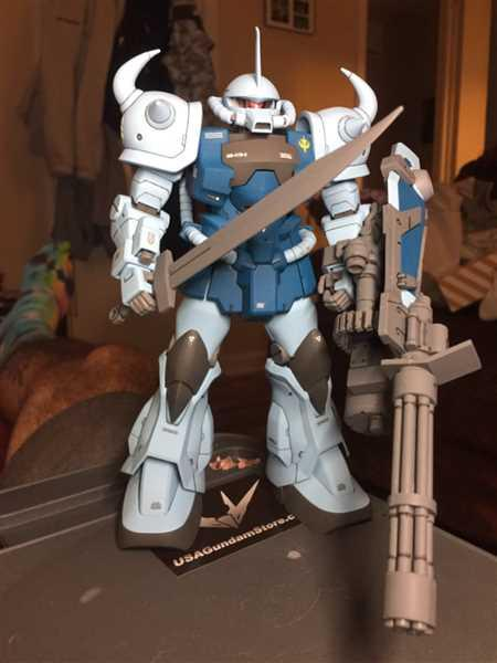 USA Gundam Store MG MS-07B3 Gouf Custom Review