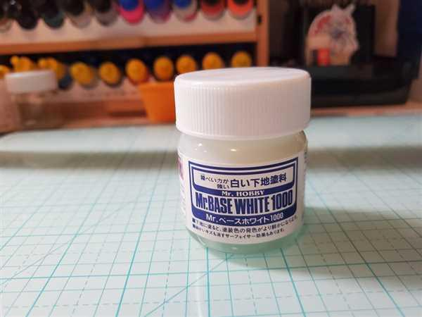 USA Gundam Store Mr Base White 1000 40ml SF283 Gunze GSI Creos Paint Supply Bottle Primer Jar Review