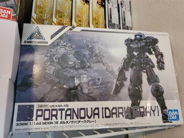 USA Gundam Store 30MM BEXM-15 PORTANOVA (NAVY) Review