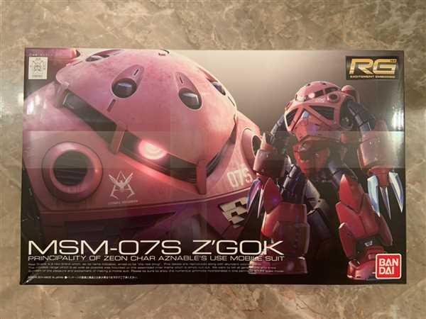 USA Gundam Store RG 1/144 Zgok Char Custom Review