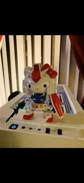 Rodney Rodney verified customer review of SD GUNDAM EX-STANDARD RX-78-2 GUNDAM / HELLO KITTY SET