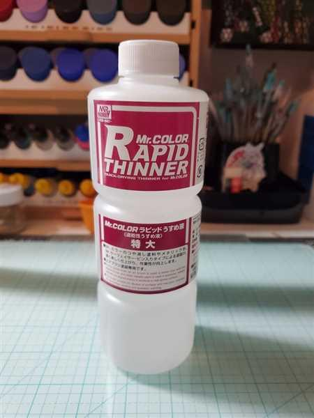 USA Gundam Store Mr Color Rapid Thinner Review
