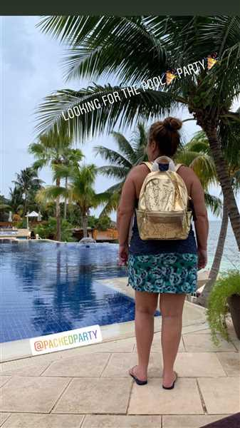 Brittany Greenwood verified customer review of OH MY STARS BACKPACK