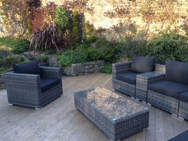 Claire Crosby verified customer review of Verona Grey Rattan Garden Corner Sofa