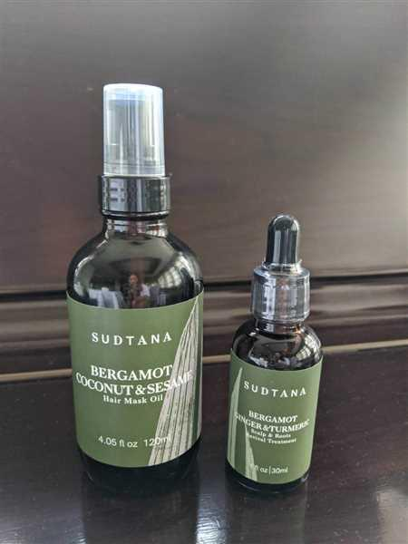 Joss O. verified customer review of Sudtana Bergamot, Coconut & Sesame Oil Hair Mask