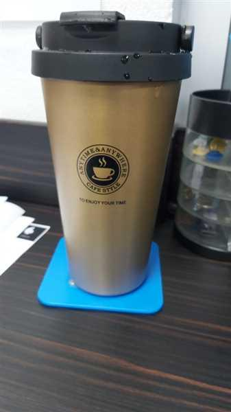 Customer verified customer review of 380 mL Stainless Steel Insulated Tumbler Thermos