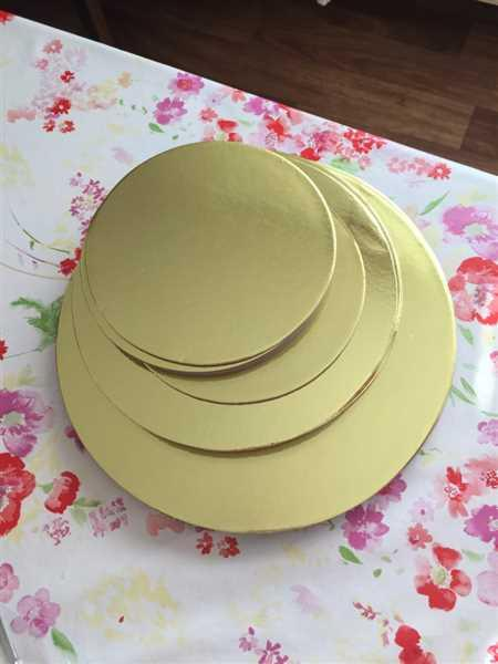 Anonymous verified customer review of 18pcs Cake Boards Set