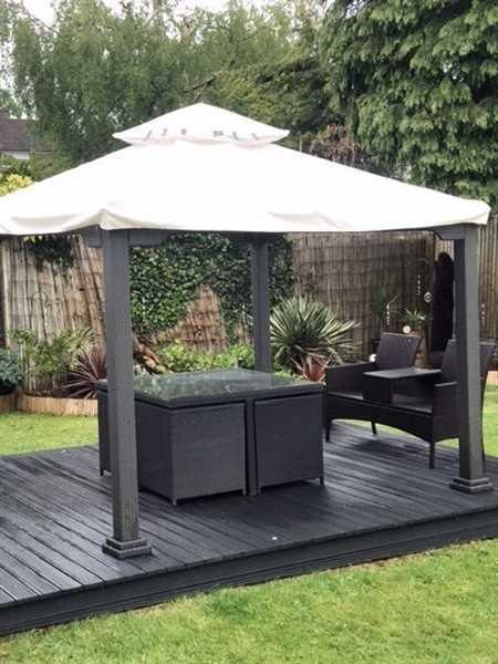 Gazebo Spare Parts Canopy for 3m x 3m Patio Gazebo - Two Tier - Universal Review