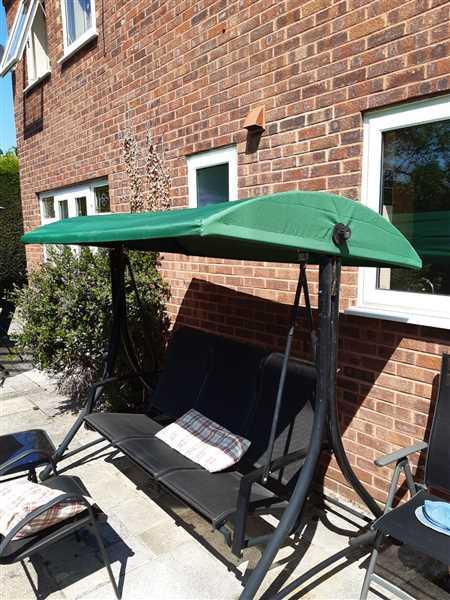 Gazebo Spare Parts Canopy for Curved Swing Hammock - 200cm x 123cm Review