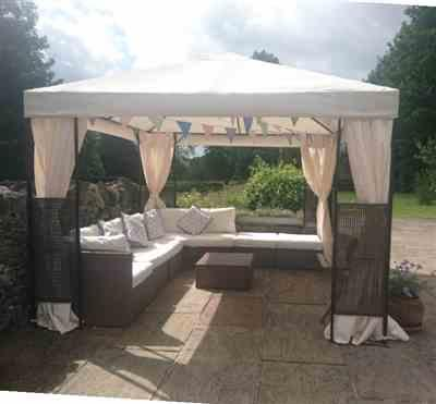 Joanne E. verified customer review of Universal Side Panel Set for 3m x 3m Patio Gazebo - Set of 4