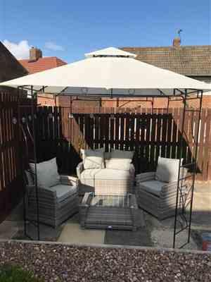 Garry C. verified customer review of Universal Side Panel Set for 2.5m x 2.5m Patio Gazebo - Set of 4