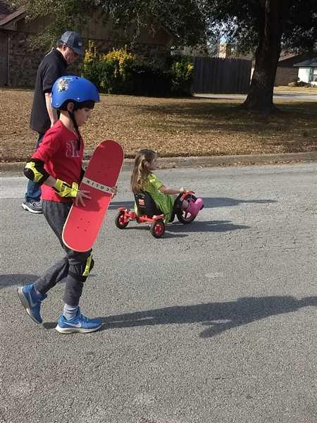 Ashley K. verified customer review of SkateXS Pirate Beginner Complete Skateboard for Kids