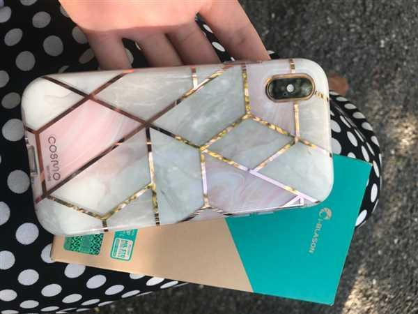 i-Blason Mobile Accessories iPhone XS | X Cosmo Case-Marble Pink Review
