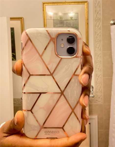 i-Blason Mobile Accessories iPhone 11 Cosmo Case-Marble Pink Review