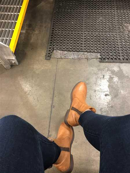 Shaelyn H. verified customer review of Omega EH-Rated Safety Boot