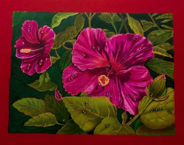 Gabriela Thiecke verified customer review of Mark Menendez: Morning Hibiscus Colored Pencil Tutorial