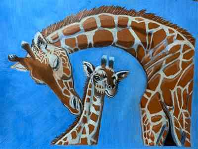 Sandra Byrne verified customer review of Mark Menendez: Giraffe Love Colored Pencil Tutorial