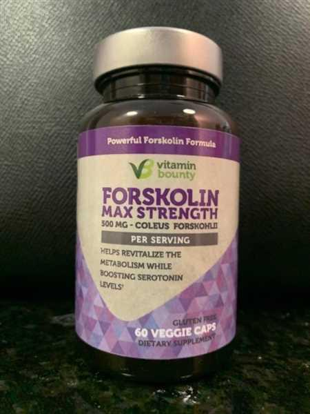 Vitamin Bounty Forskolin Max Strength Review