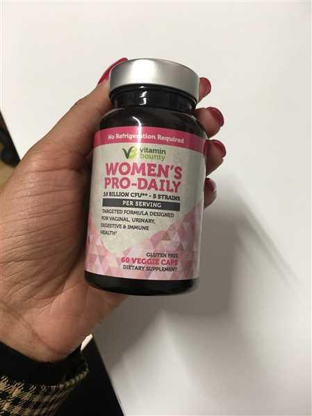 Tiffany verified customer review of Women's Pro-Daily Probiotic