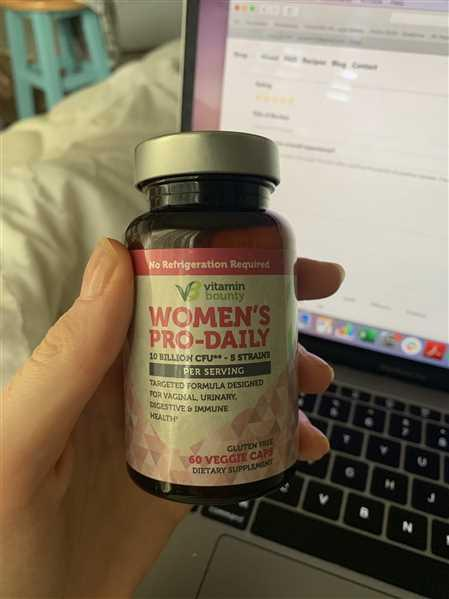 Vitamin Bounty Women's Pro-Daily Probiotic Review