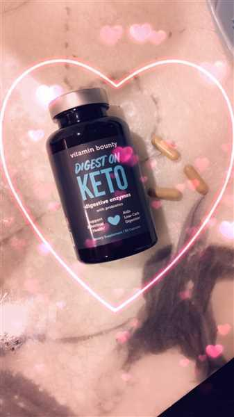 Vitamin Bounty Digest On Keto - Probiotics with Digestive Enzymes Review