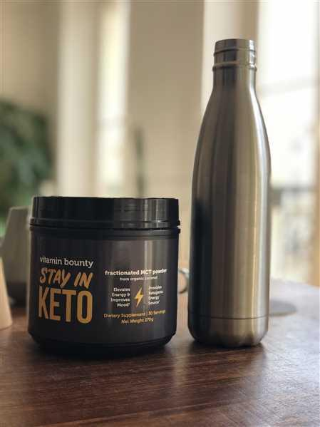 Jasna  verified customer review of Stay In Keto - MCT Oil Powder