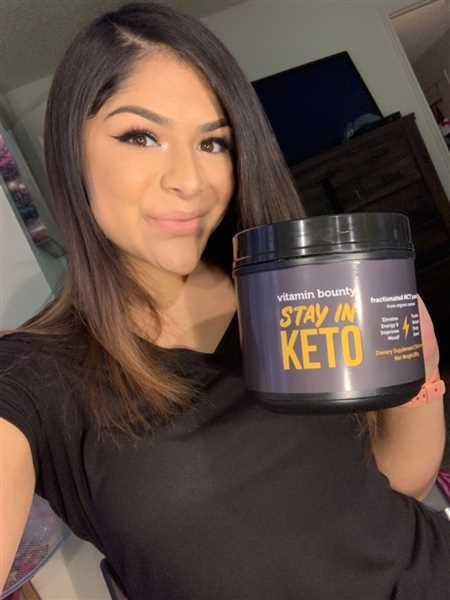 Tori Martinez verified customer review of Stay In Keto - MCT Oil Powder