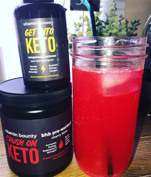 Jena Cooros verified customer review of Crush On Keto - Cherry BHB Pre-Workout