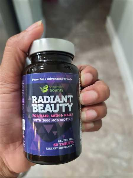 Vitamin Bounty Radiant Beauty - Hair, Skin and Nail Growth Review