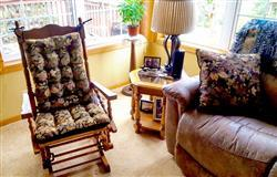 Kim L. verified customer review of Woodlands Forest Floor Rocking Chair Cushion Set - Oak