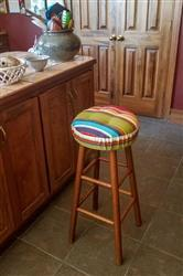 Jenny A. verified customer review of Westport Red Bar Stool Cover with Cushion - Indoor / Outdoor