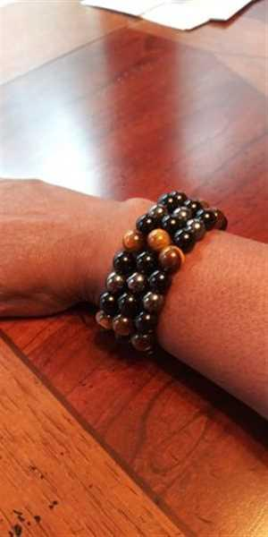 Anita A. verified customer review of Seven Chakras Curative Beads Bracelet