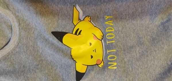 Ikuzo Concept Pikachu Not Today Crewneck Review