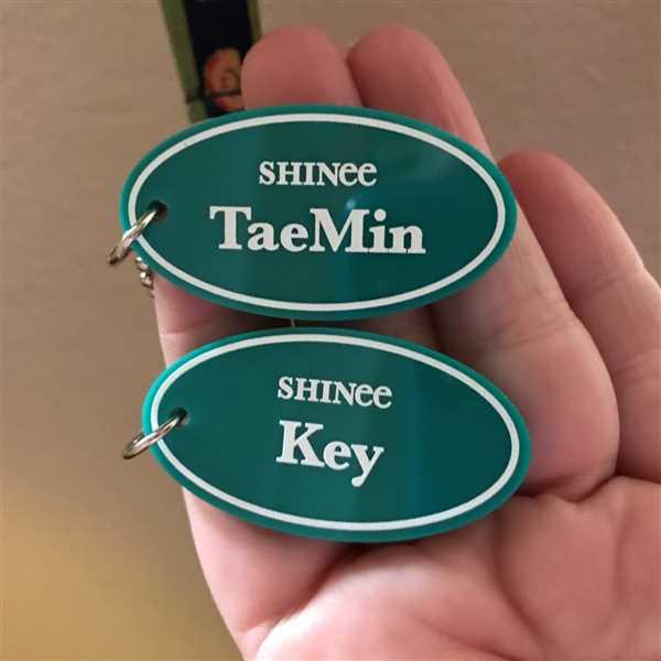 The Daebak Company SHINee Acrylic Keyring Review
