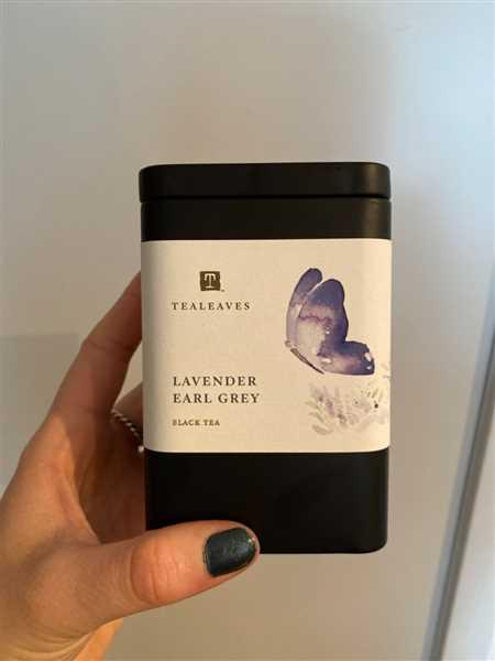 Laura Baker verified customer review of Lavender Earl Grey