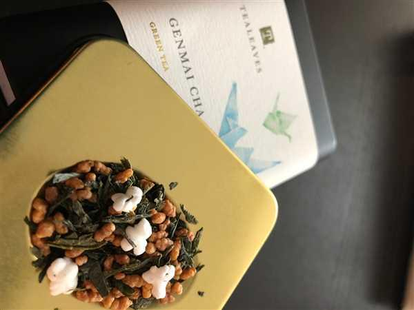 TEALEAVES Genmai Cha Review