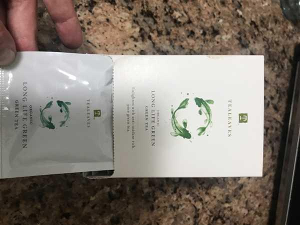 TEALEAVES Organic Long Life Green Review