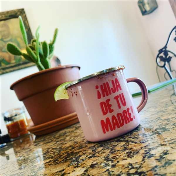 ADRIANA KOTHMANN verified customer review of Hija de tu Madre Enamel Mug