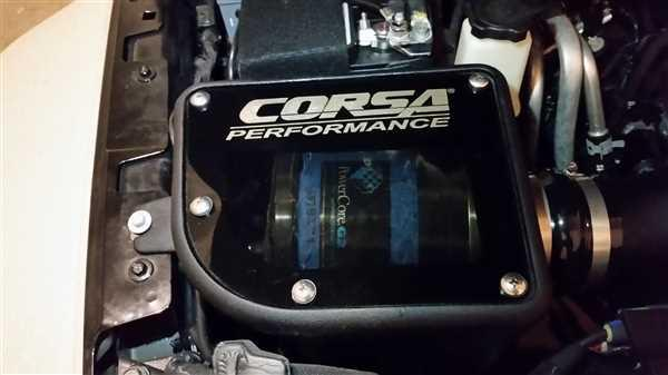 CORSA PERFORMANCE PowerCore Filter (44412) Closed Box Air Intake 2012-2018 Jeep Wrangler JK 3.6L Review