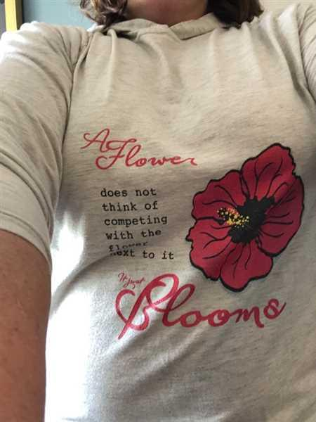 My Yoga Essentials It Just Blooms LS T-Shirt Hoodie Review