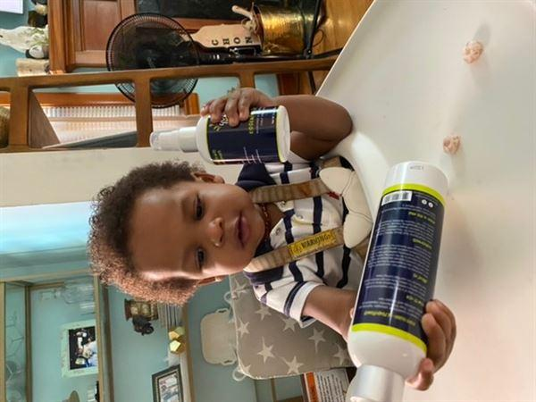 Young King Hair Care Kids Leave-In Conditioner Review