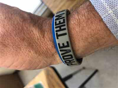 Anonymous verified customer review of Blemished Wristbands (10 Pack Randomly Selected - ALL SALES FINAL)