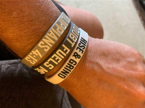 Elite Athletic Gear DOUBT FUELS ME Wristband Review