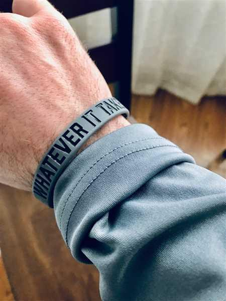 Elite Athletic Gear WHATEVER IT TAKES. Wristband Review