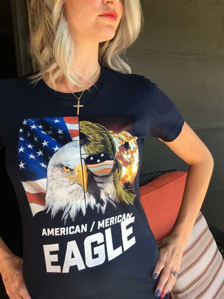 Ashley L. verified customer review of American Eagle.  Merican Eagle. (Ladies)