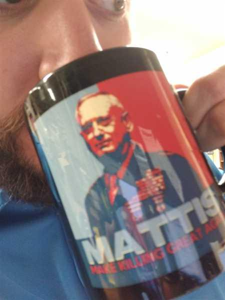 Eugene G. verified customer review of Make Killing Great Again Mug BLACK