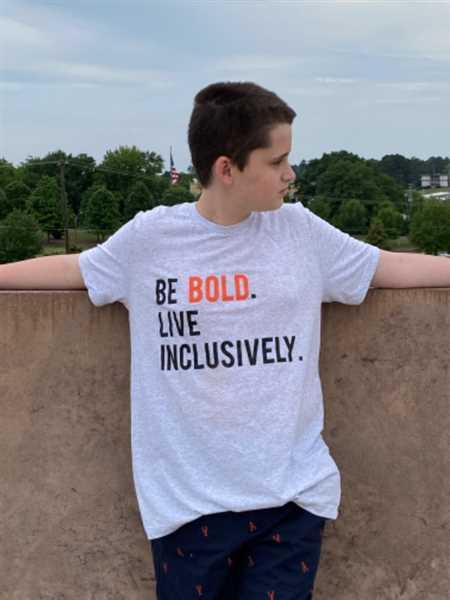 Live Inclusively® by The Winters Group Be Bold Live Inclusively® T-Shirt Review