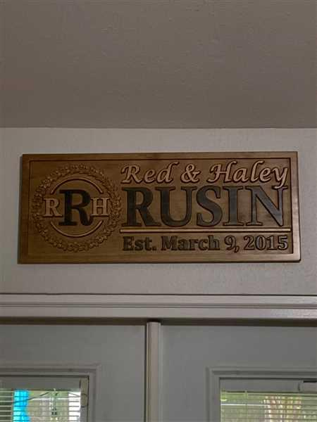 3D Woodworker Custom Last Name Wood Sign Review