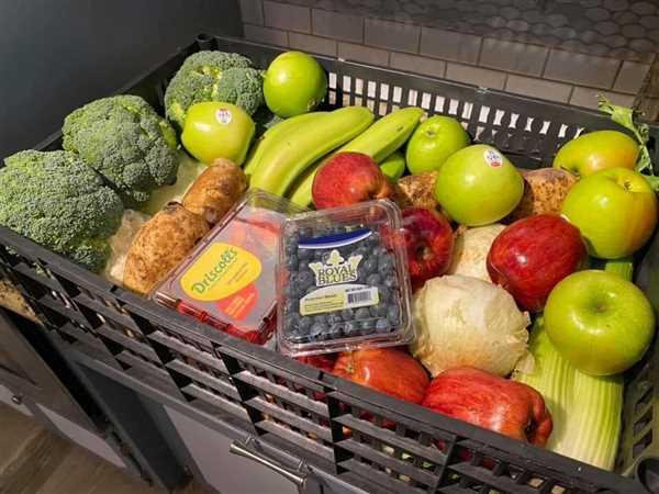 "Farm To Neighborhoods Produce Boxes  ""Large Mixed Fresh Fruit and Vegetable Box"" Review"