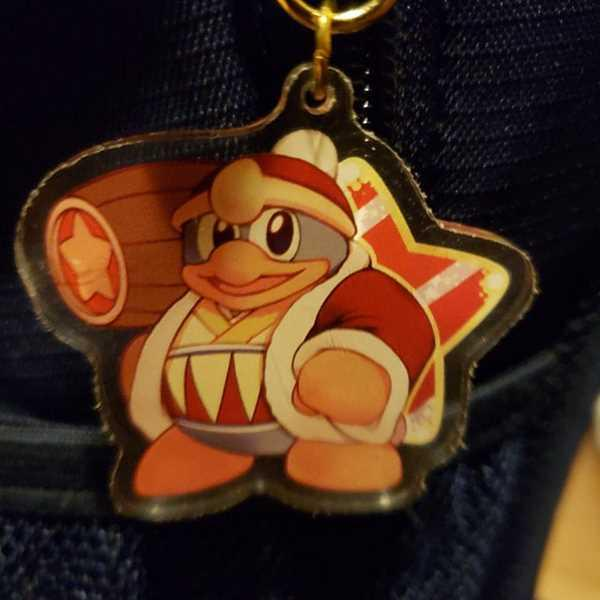 PonCrafts Pink Puff and Friends: Double Sided keychain Review